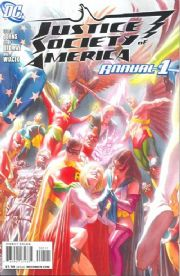 Justice Society of America Annual #1 (2008) Alex Ross DC comic book